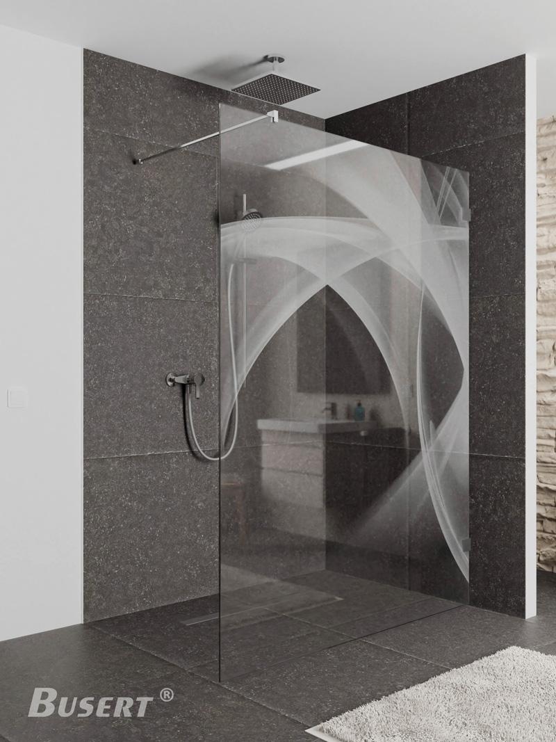 Walk In Dusche WI Laser 1 teilig Sondermaße bis 1600 x 2100 mm