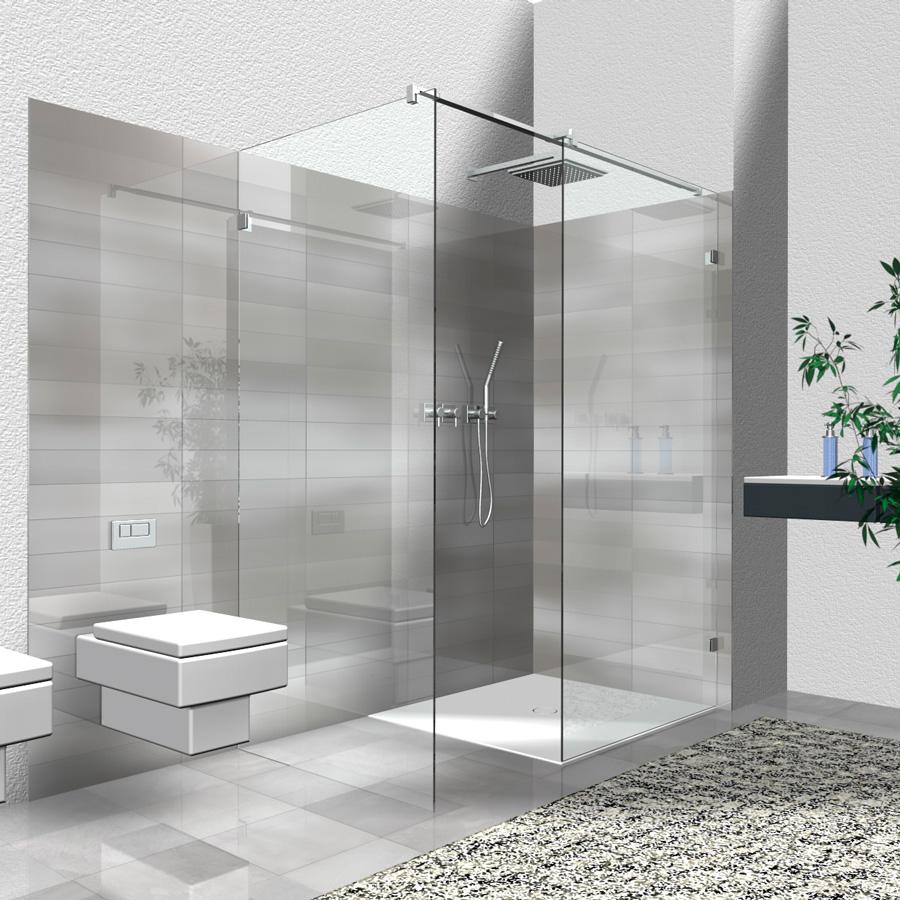 walk in dusche wi 4 2 teilige eckl sung walk in dusche. Black Bedroom Furniture Sets. Home Design Ideas