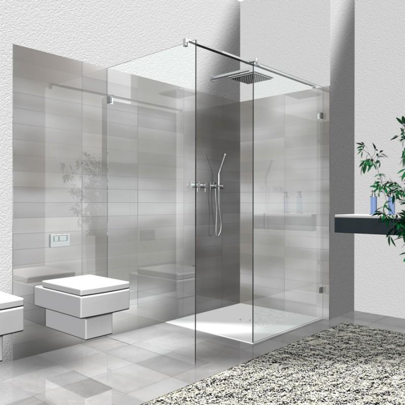 walk in dusche wi 4 2 teilige eckl sung. Black Bedroom Furniture Sets. Home Design Ideas